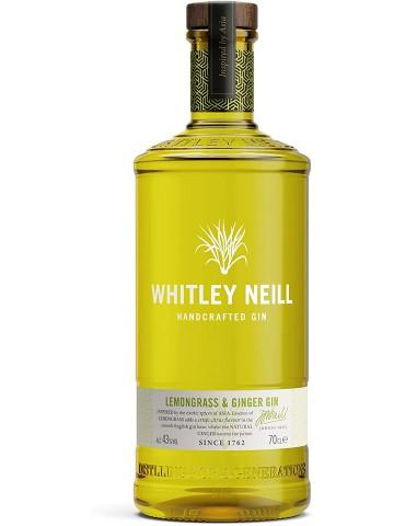 WHITLEY NEILL Lemongrass & Ginger, Anglia, 0.7L, 43% ABV