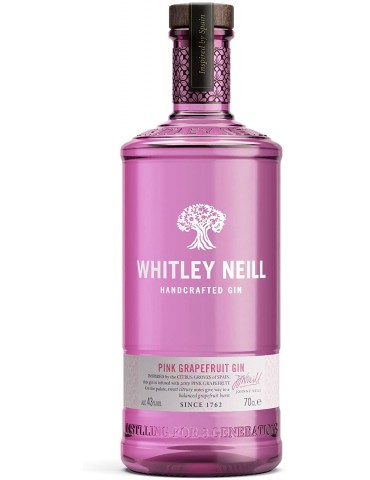 WHITLEY NEILL Pink Grapefruit, Anglia, 0.7L, 43% ABV