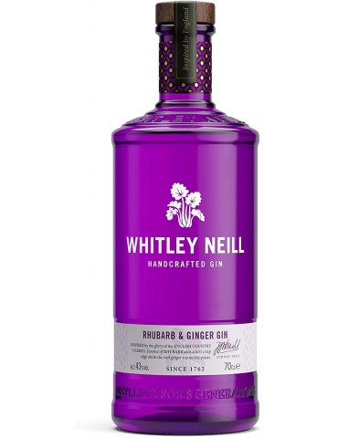 WHITLEY NEILL Rhubarb & Ginger, Anglia, 0.7L, 43% ABV
