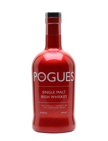 The Pogues Whisky, Single Malt, Irlanda, 0.7L, 40% ABV