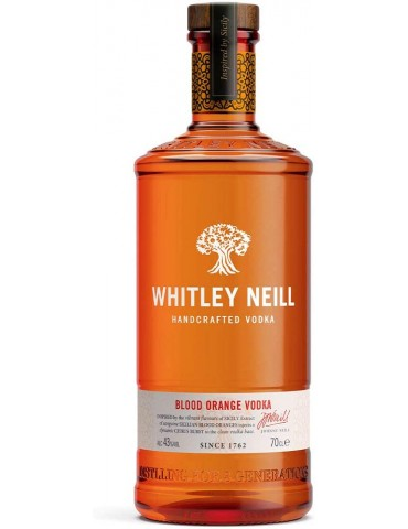 WHITLEY NEILL Blood Orange Vodka, Anglia, 0.7L, 43% ABV