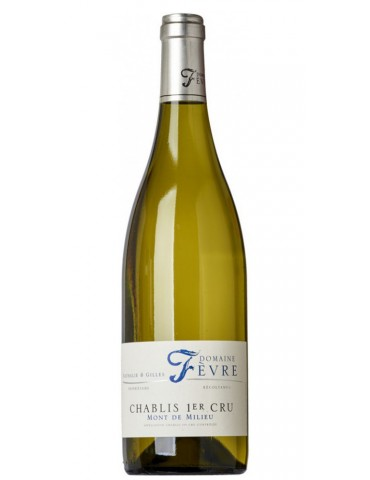 Domaine Nathalie et Gilles Fevre Chablis 1er Cru Mont de Milieu, Franta, Alb, Sec, 0.75L, 13% ABV