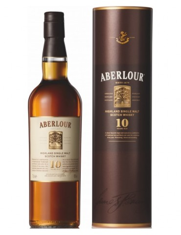 ABERLOUR 10YO, Single Malt, Scotia, 0.7L, 40% ABV