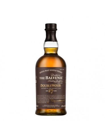 BALVENIE 17YO Doublewood, Single Malt, Scotia, 0.7L, 43% ABV