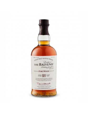 BALVENIE 21YO Portwood, Single Malt, Scotia, 0.7L, 40% ABV