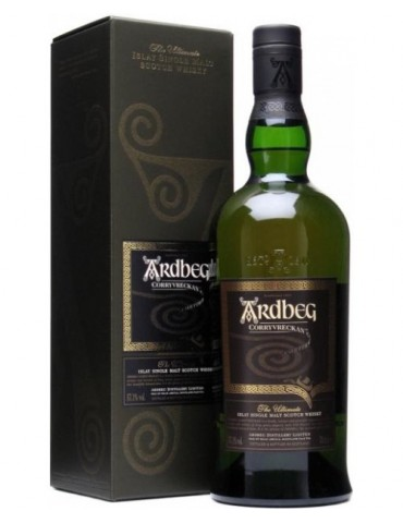 ARDBEG Corryvreckan Gift Box, Single Malt, Scotia, 0.7L, 57.1% ABV