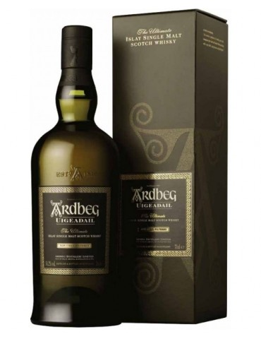 ARDBEG Uigeadail Gift Box, Single Malt, Scotia, 0.7L, 54.2% ABV