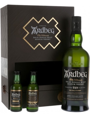 ARDBEG Exploration Pack, Single Malt, Scotia, 0.7L, 46% ABV