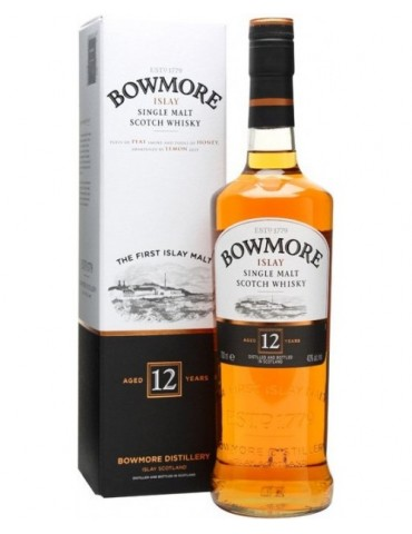 BOWMORE 12YO, Single Malt, Scotia, 0.7L, 40% ABV