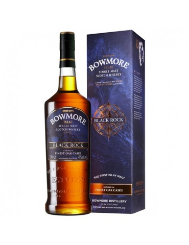 BOWMORE Black Rock, Single Malt, Scotia, 1L, 40% ABV