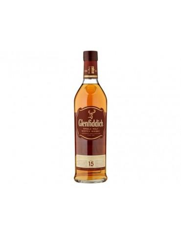 GLENFIDDICH 15 Ani, Single Malt, Scotia, 0.7L, 40% ABV