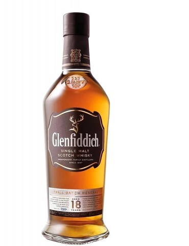 GLENFIDDICH 18 Ani, Single Malt, Scotia, 0.7L, 40% ABV