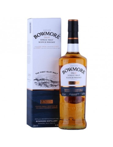 BOWMORE Legend, Single Malt, Scotia, 0.7L, 40% ABV