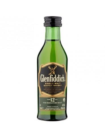 GLENFIDDICH 12 Ani, Single Malt, Scotia, 0.05L, 40% ABV