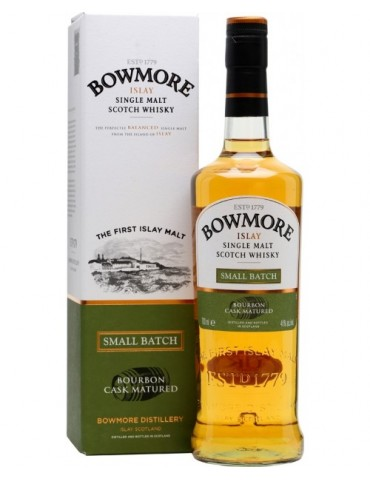 BOWMORE Small Batch, Single Malt, Scotia, 0.7L, 40% ABV