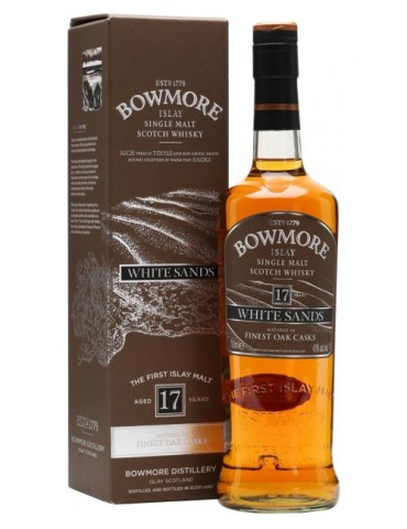 BOWMORE White Sands 17YO, Single Malt, Scotia, 0.7L, 43% ABV