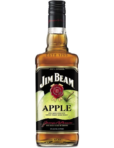 JIM BEAM Apple, Blended, S.U.A, 0.7L, 35% ABV