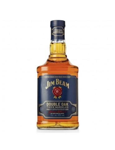 JIM BEAM Double Oak, Blended, S.U.A, 0.7L, 43% ABV