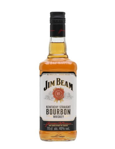 JIM BEAM White Label, Blended, S.U.A, 0.7L, 40% ABV