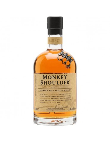 MONKEY SHOULDER Whisky, Blended Malt, Scotia, 0.7L, 40% ABV