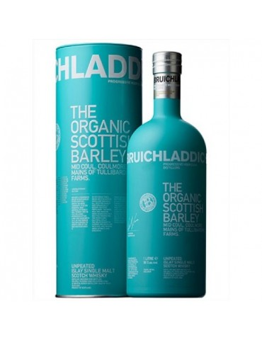 BRUICHLADDICH Organic, Single Malt, Scotia, 1L, 50% ABV