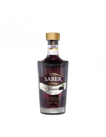 SABER Elyzia Premium Cirese Negre, Romania, 0.7L, 30% ABV