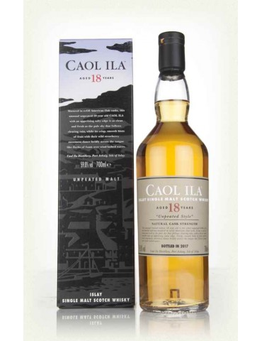 CAOL ILA 18YO Unpeated, Single Malt, Scotia, 0.7L, 59.8% ABV