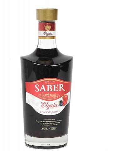 SABER Elyzia Premium Fructe de Padure, Romania, 0.7L, 30% ABV