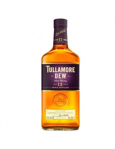 TULLAMORE DEW 12 Ani, Blended, Irlanda, 0.7L, 40% ABV