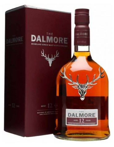 DALMORE 12YO, Single Malt, Scotia, 0.7L, 40% ABV