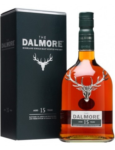 DALMORE 15YO, Single Malt, Scotia, 0.7L, 40% ABV