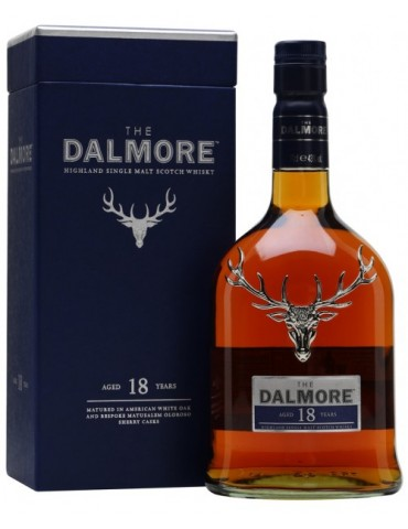 DALMORE 18YO, Single Malt, Scotia, 0.7L, 43% ABV