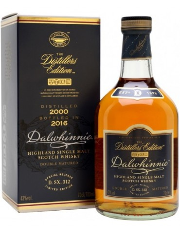 DALWHINNIE Distiller`s Edition, Single Malt, Scotia, 0.7L, 43% ABV