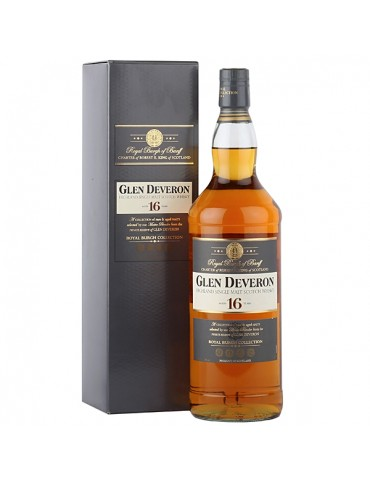 GLEN DEVERON 16YO, Single Malt, Scotia, 1L, 40% ABV