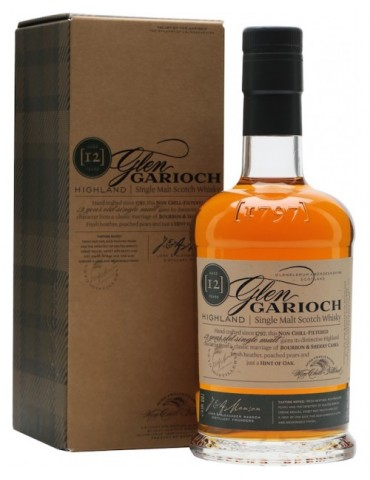 GLEN GARIOCH 12YO, Single Malt, Scotia, 1L, 48% ABV