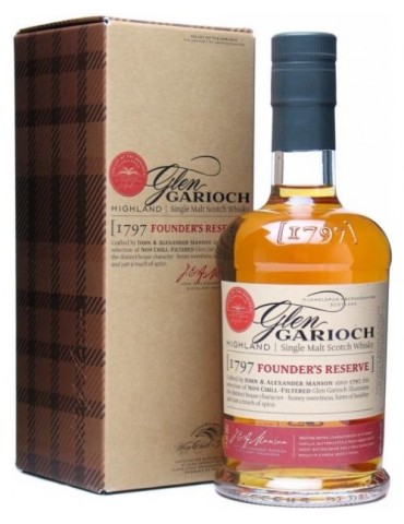 GLEN GARIOCH Founder`s Reserve, Single Malt, Scotia, 1L, 48% ABV