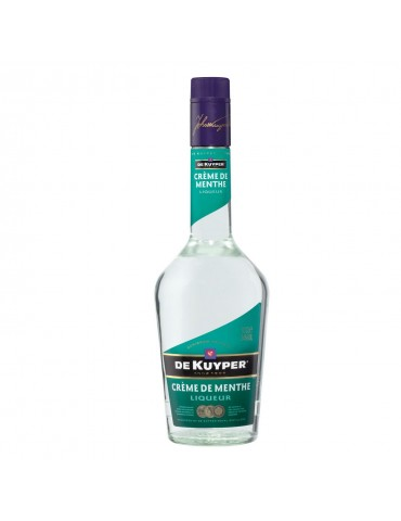 DE KUYPER Creme de Menthe White, Olanda, 0.7L, 24% ABV