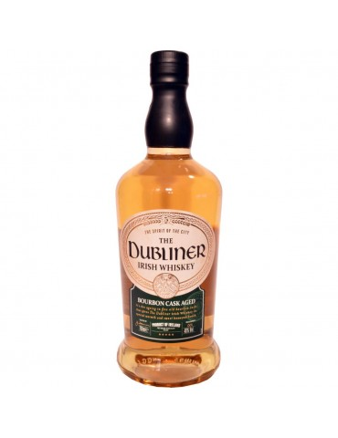 The Dubliner Irish Whisky, Blended, Irlanda, 0.7L, 40% ABV