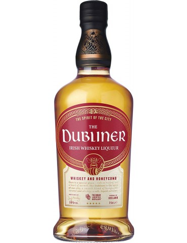 The Dubliner Honeycomb Irish Whisky, Blended, Irlanda, 0.7L, 30% ABV