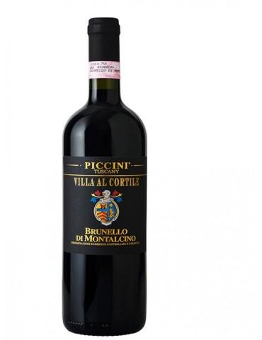 PICCINI Villa Al Cortile Brunnelo di Montalcino, Italia, Rosu, Sec, 0.75L, 14% ABV