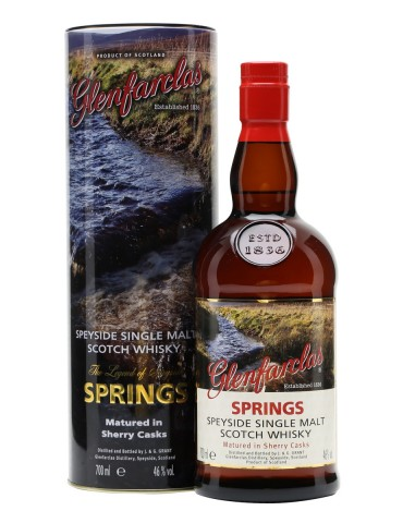 GLENFARCLAS Springs, Single Malt, Scotia, 0.7L, 46% ABV
