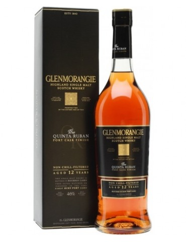 GLENMORANGIE 12YO Quinta Roban Gift Box, Single Malt, Scotia, 0.7L, 46% ABV
