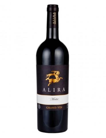 ALIRA Grand Merlot Magnum, Romania, Rosu, Sec, 1.5L, 14% ABV