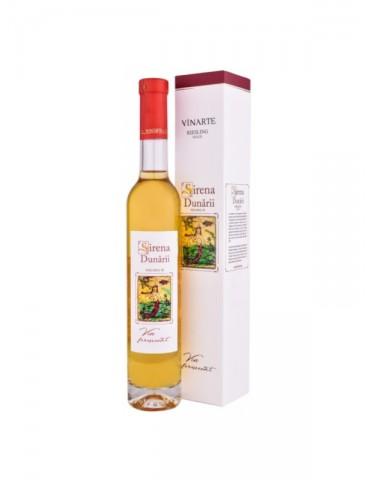 Vinarte Sirena Dunarii Riesling 2013, Romania, Alb, Dulce, 0.375L, 13% ABV