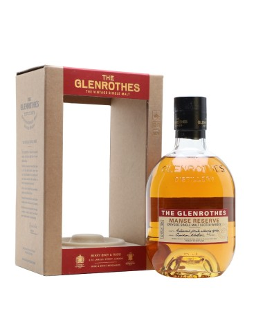 GLENROTHES Manse Reserve, Single Malt, Scotia, 0.7L, 43% ABV