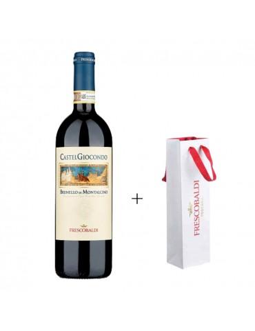 Pachet Vin Castel Giocondo Brunello Di Montalcino DOCG, Italia, Rosu, Sec, Punga Originala