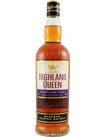 HIGHLAND QUEEN Sherry Cask, Blended, Scotia, 0.7L, 40% ABV