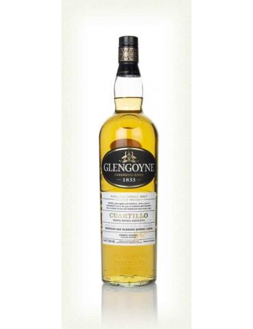 GLENGOYNE Cuartillo Oak Oloroso, Single Malt, Scotia, 1L, 40% ABV