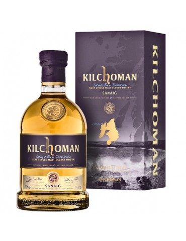 KILCHOMAN Sanaig, Single Malt, Scotia, 0.7L, 46% ABV