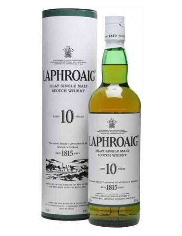 LAPHROAIG 10YO, Single Malt, Scotia, 0.7L, 40% ABV